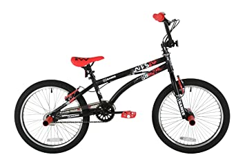 X-GAMES Boy FS-20 Bmx 20 inch wheel Bike, Black / Red