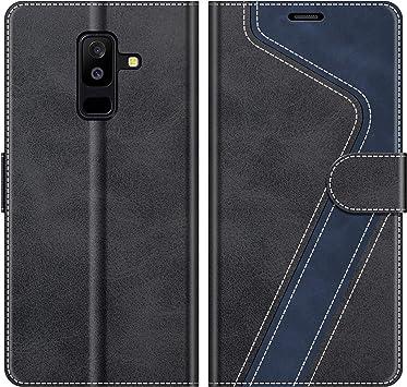 MOBESV Funda para Samsung Galaxy A6 Plus, Funda Libro Samsung A6 ...