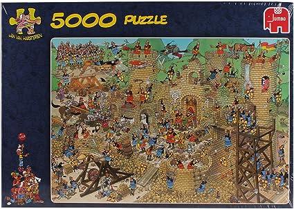 Jan van Haasteren - Puzzle con diseño de Castillo con Problemas (5000 Piezas): Amazon.es: Juguetes y juegos
