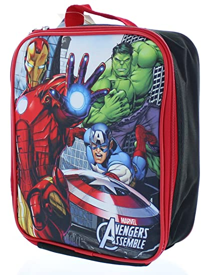 0193a4fcdcb0 Buy Marvel Avengers Insulated Lunch Bag - Lunch Box Online at Low ...