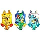 1ac7a24c97175 FineApparel UK Seller Pokemon Go Girls Swimwear Swimming Costume Swimsuit  Pikachu Squirtle Charmander