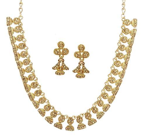596764c4db22a Amazon.com: Bindhani Women's Bridal Bride Wedding Jewellery ...