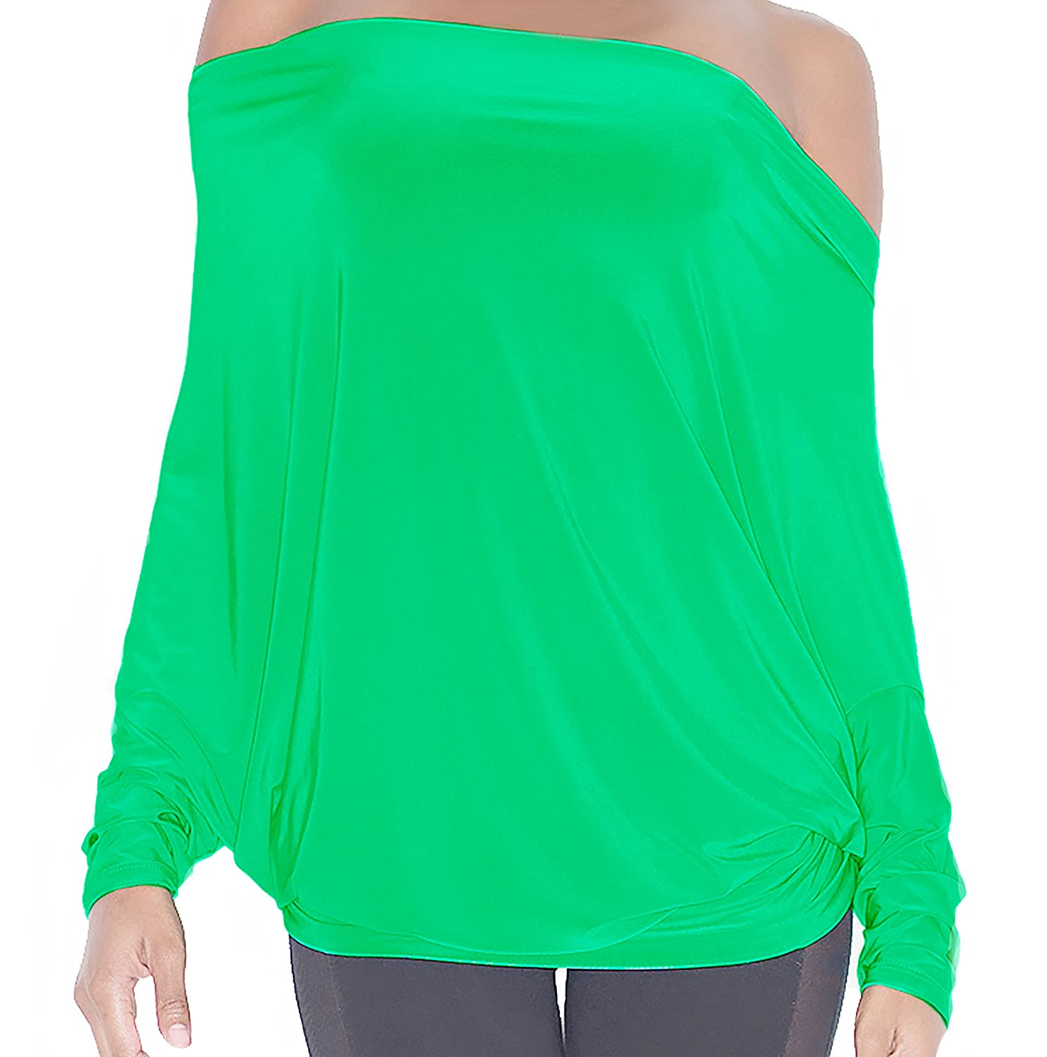 VULGAR CITIZEN Women's Reversible Dolman Sleeve Top