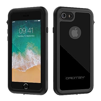 Amazon.com: ORDTBY - Carcasa impermeable para iPhone 7/8 ...