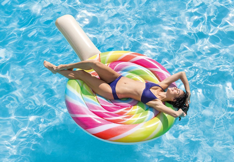 INTEX Hinchable Lollipop Flotador: Amazon.es: Juguetes y juegos