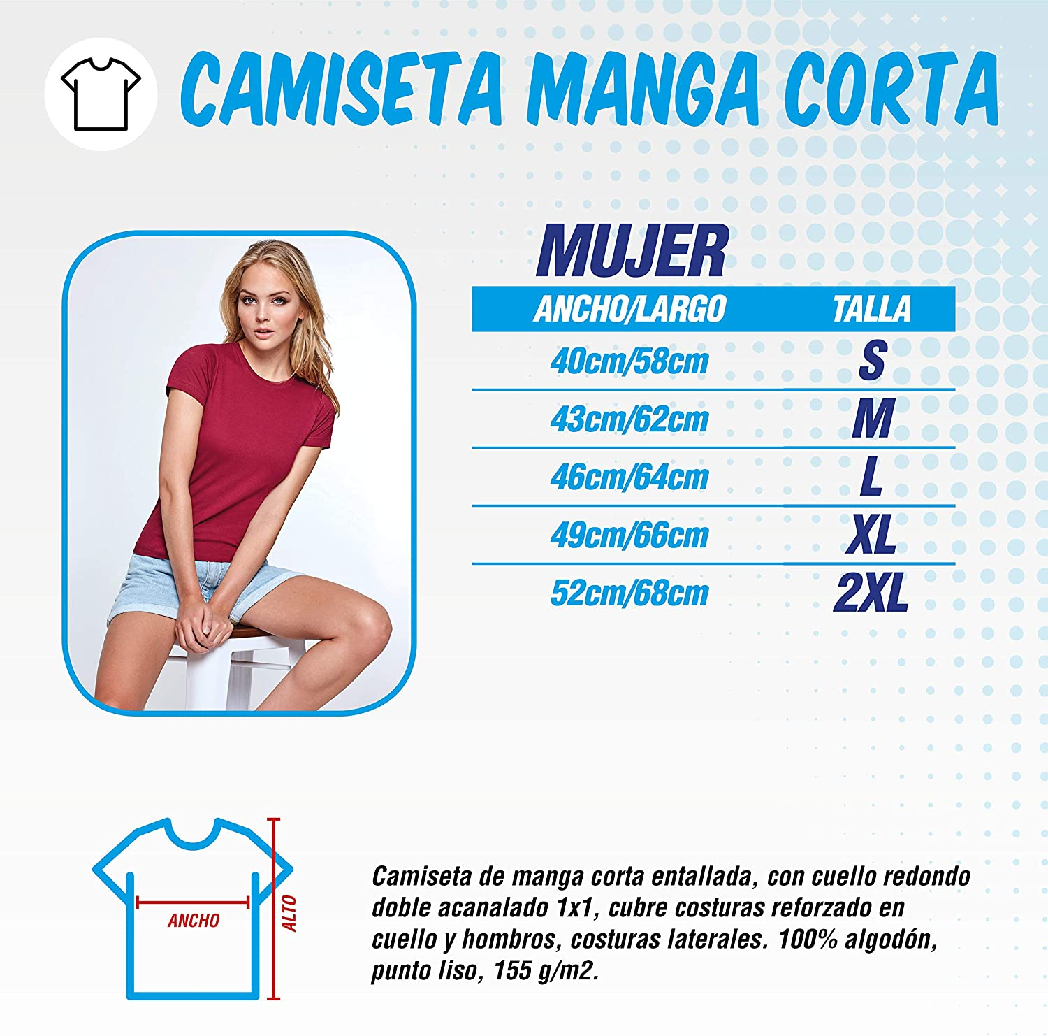 Camiseta de Mujer Stranger Things Once Series Retro 80 Eleven Will 016