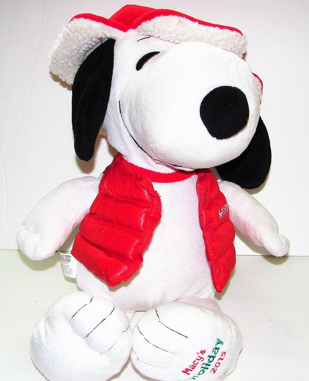 Amazon Com Jumbo Plush Snoopy Peanuts Beagle Dog Red Jacket Macy S