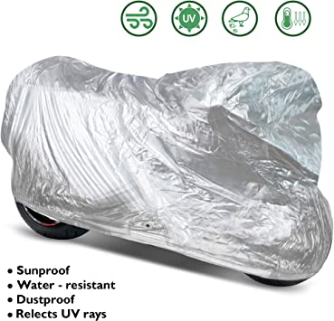 OxGord Outdoor Water Resistant Cover for Scooters Fits up to 72 inches