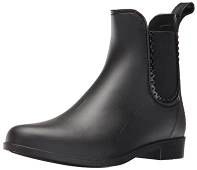 Jack Rogers Women's Sallie Rain Boot, Black, ...
