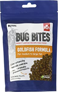 Fluval Bug Bites Goldfish Food