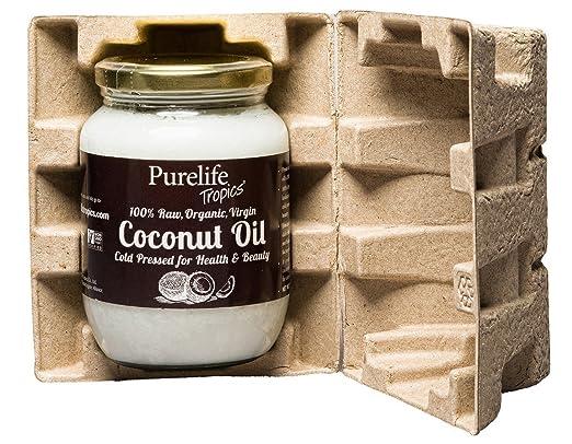 Purelife Tropics - Aceite de coco orgánico, sin OMG, sin ...