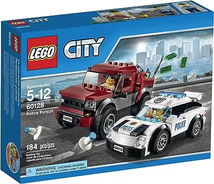 Amazon Com Lego City Police Pursuit 60128 Toys Games