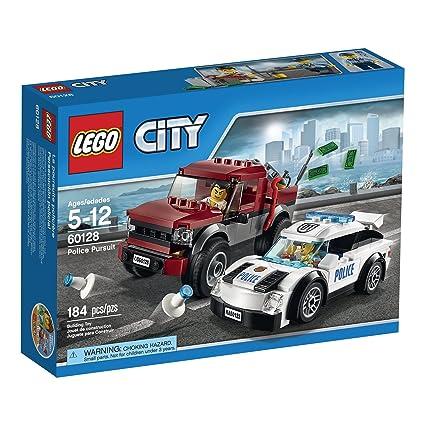 Amazoncom Lego City Police Pursuit 60128 Toys Games