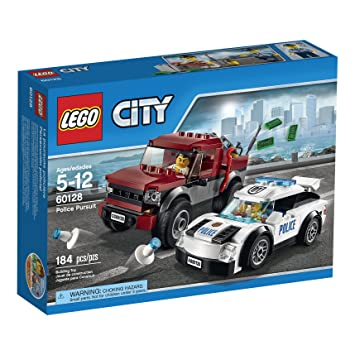 amazoncom lego city police pursuit 60128 toys games - Lgo City Police