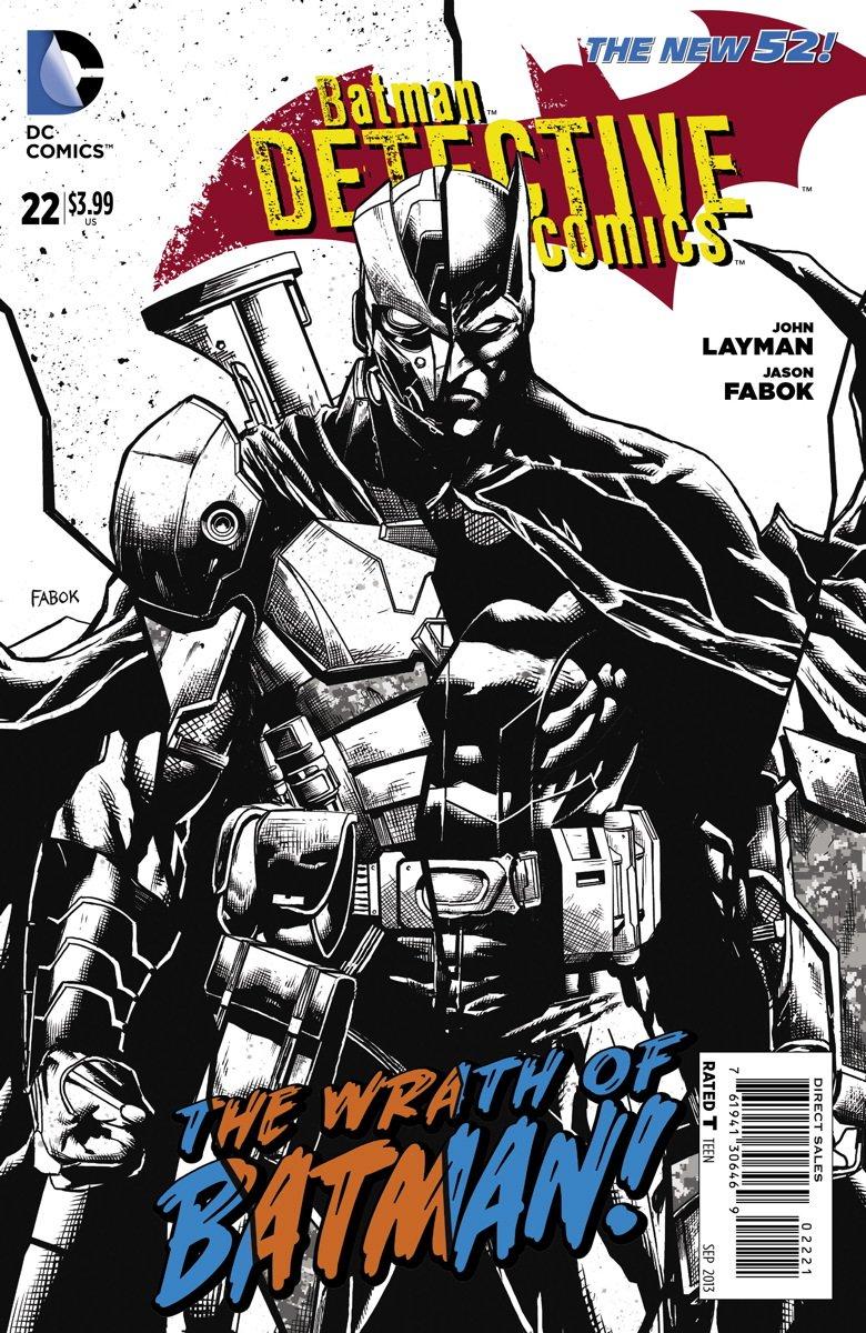 "Detective Comics #22 ""Black & White Sketch Variant"" pdf"