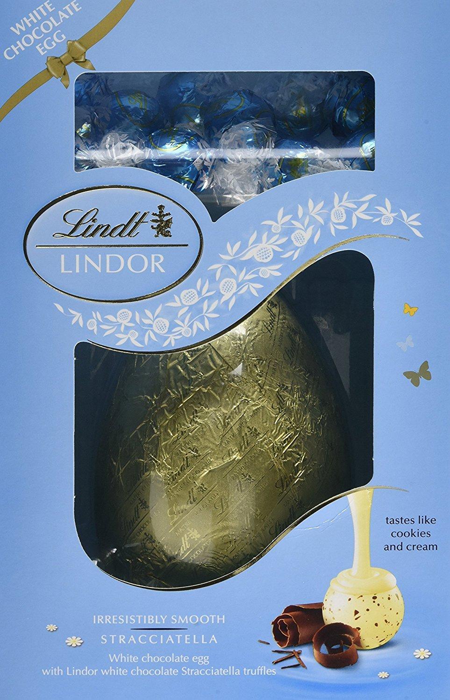 Huevo de Pascua Lindt Lindor Stracciatella, 285 g: Amazon.es: Alimentación y bebidas