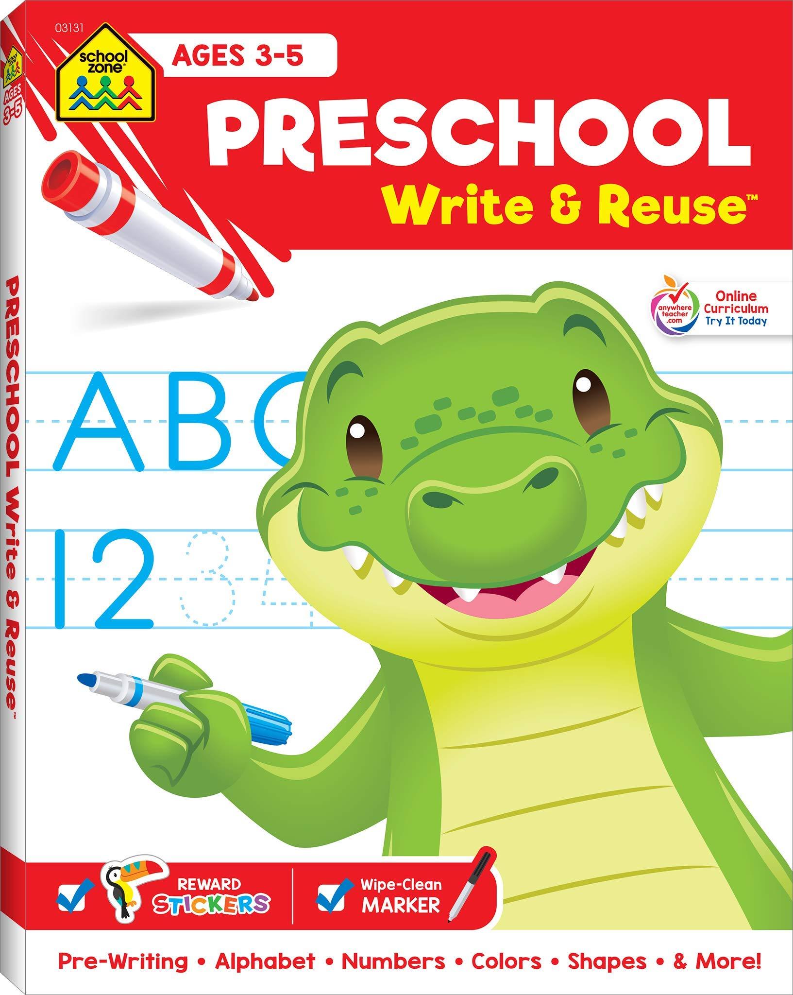 School Zone Preschool Uppercase Lowercase product image