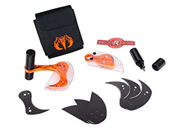Raptorazor - Juego de cuchillos de caza para desollar presas ...