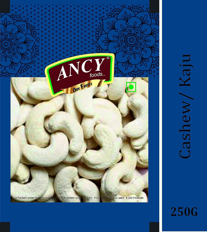 Ancy Cashew Kernels Nuts Superior Big Size 100% Best (Kaju Sabut, Whole Cashews)