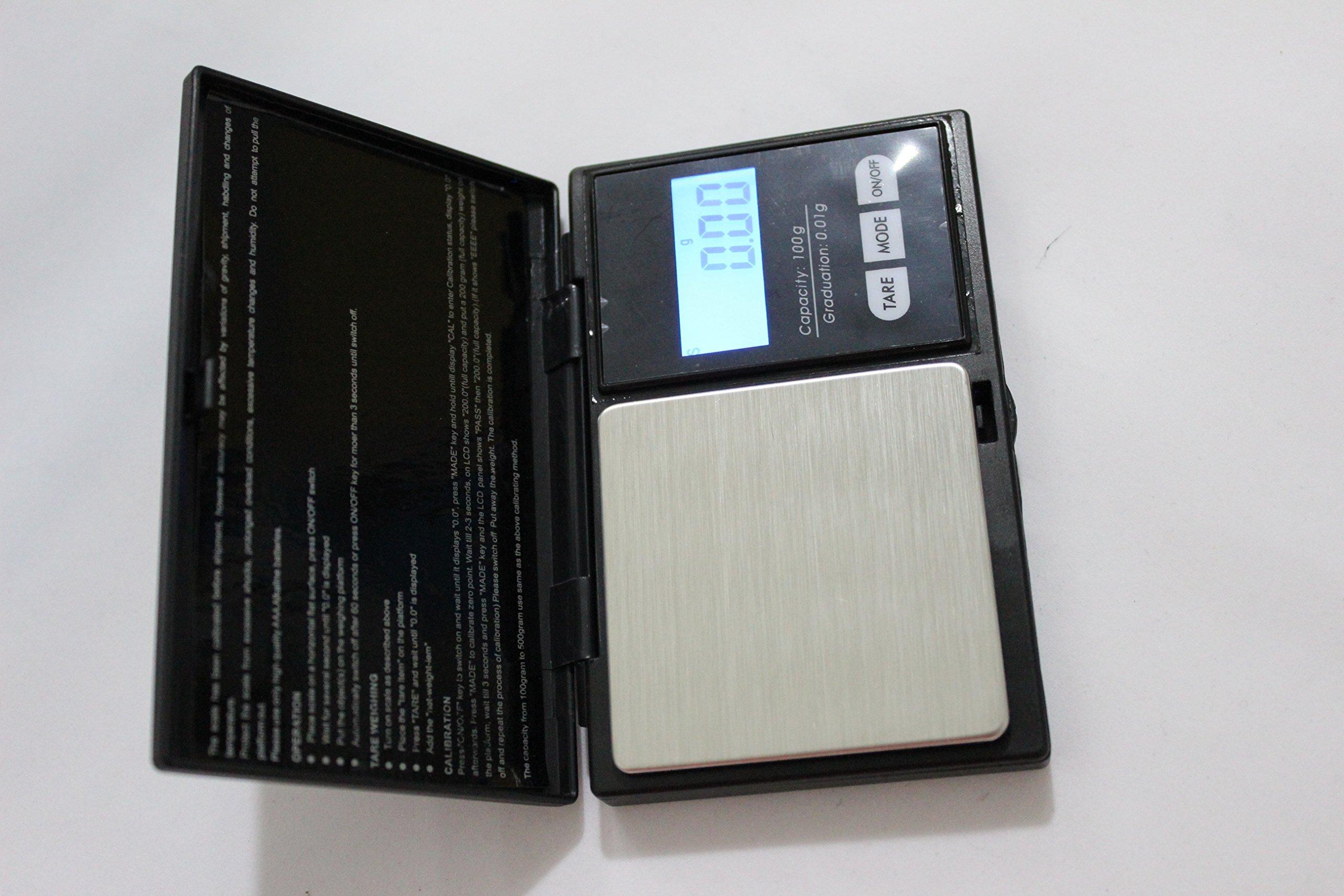 DX(HK) digital Pocket Scale 100 x 0.01g - Black