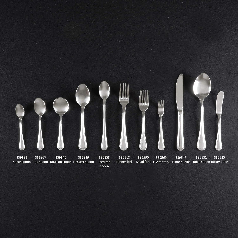 Thunder Group Flatware-Legend stainless steel dinner butter knife comes in dozen