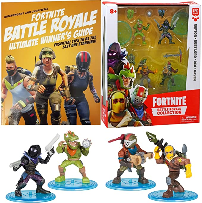 Amazon.com: Battle Figure Raven Raptor Fortnight Figures ...