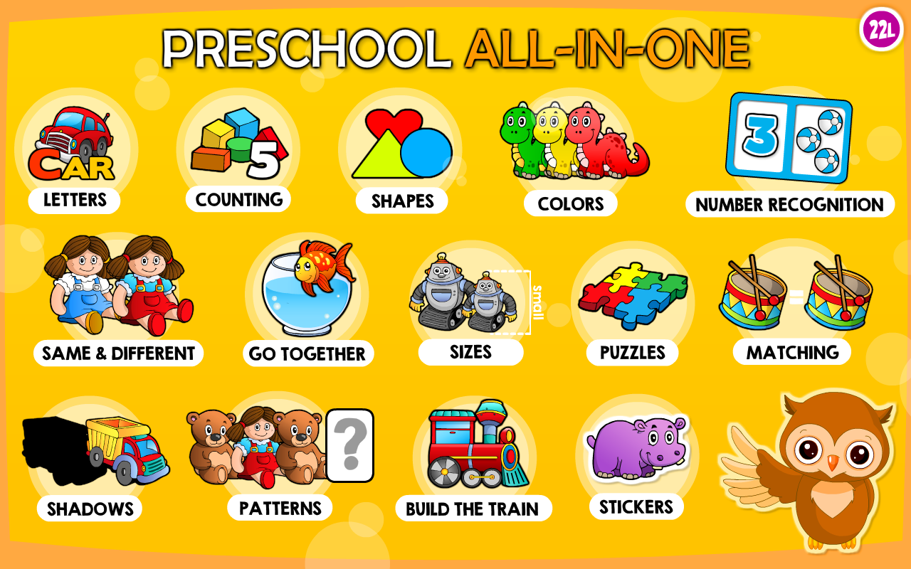 AmazonCom Preschool AllInOne Basic Skills Adventure With Toy