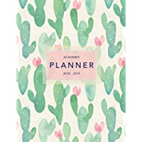 Academic Planner 2018-19: Cactus Design | Weekly + Monthly Views | To Do Lists, Goal-Setting, Class Schedules + More (August 2018 - July 2019): Volume 3 (2018-2019 Student Planners)