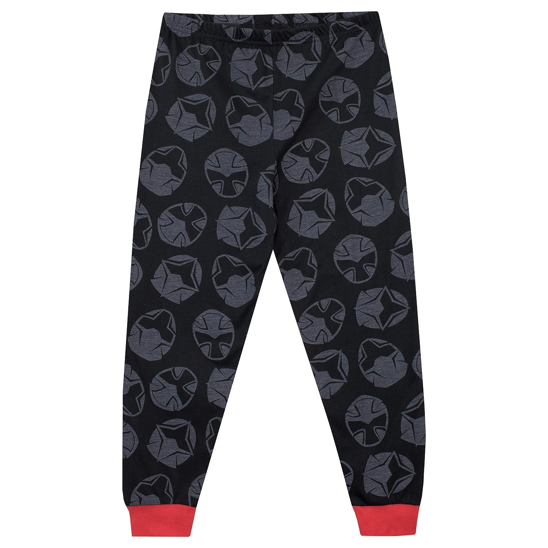 Power Rangers Pijamas de Manga Larga para niños Ninja Steel: Amazon.es: Ropa y accesorios