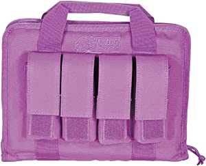 VooDoo Tactical Lady Pistol Case with Mag Pouches