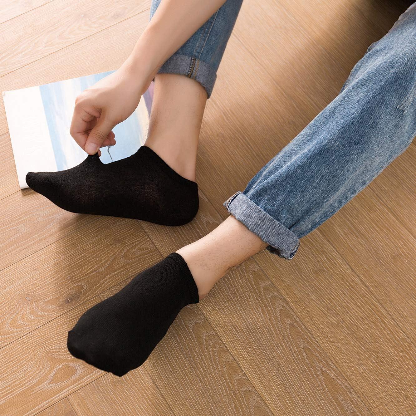 DarkCom 8 Paia Uomo Donna Calzini Allenatore Calzini Calze Sneaker Calzini Corti Cotone
