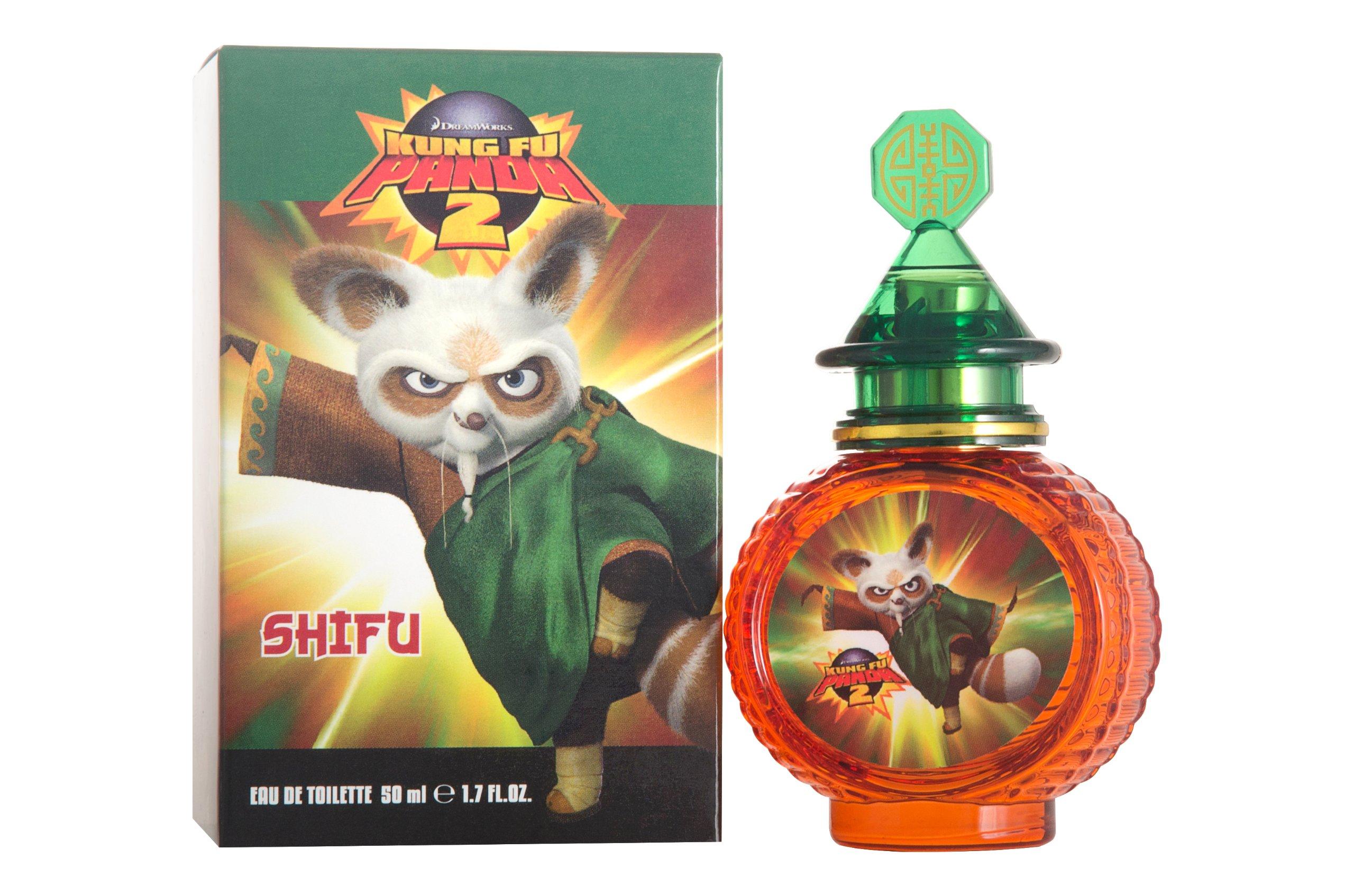 Dreamworks Kung Fu Panda 2 Eau de Toilette Spray for Kids, Shifu, 1.7 Ounce