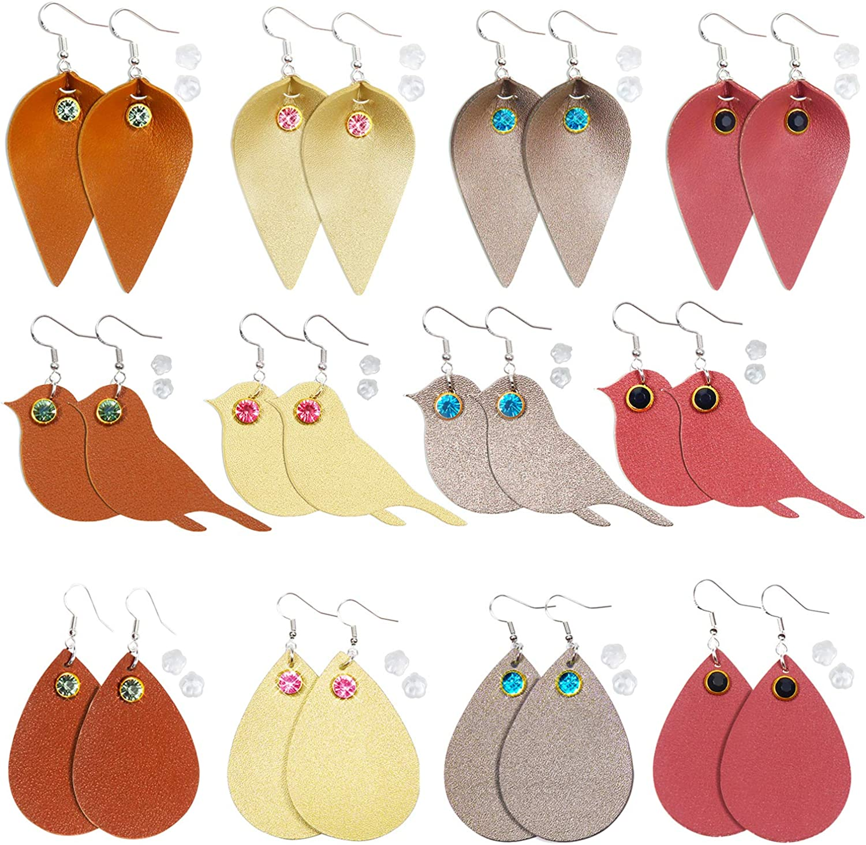 READ DESCRIPTION ! Faux leather earrings