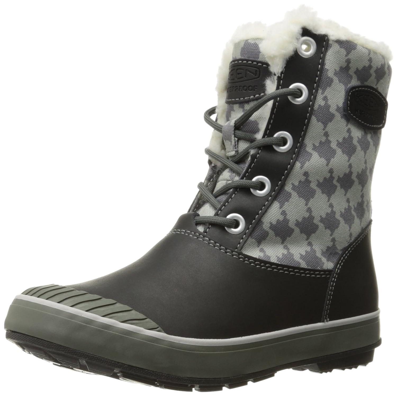 KEEN Women's Elsa Waterproof Winter Boot B019FCAVBG 5.5 B(M) US Hounds Tooth