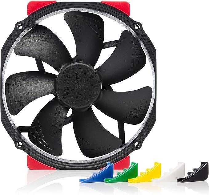 Amazon.com: Noctua NF-A15 HS-PWM chromax.Black.swap, Premium Quiet Fan, 4-Pin (140mm, Black): Computers & Accessories