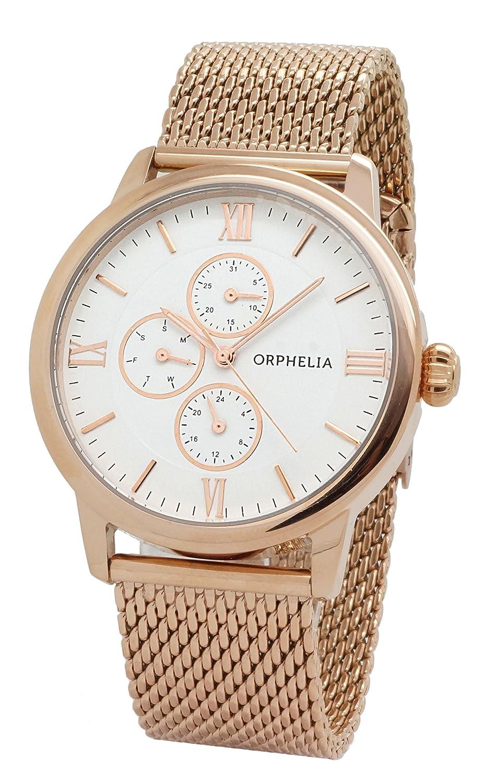 ORPHELIA Herren-Armbanduhr Analog Quarz Edelstahl 122-9707-17