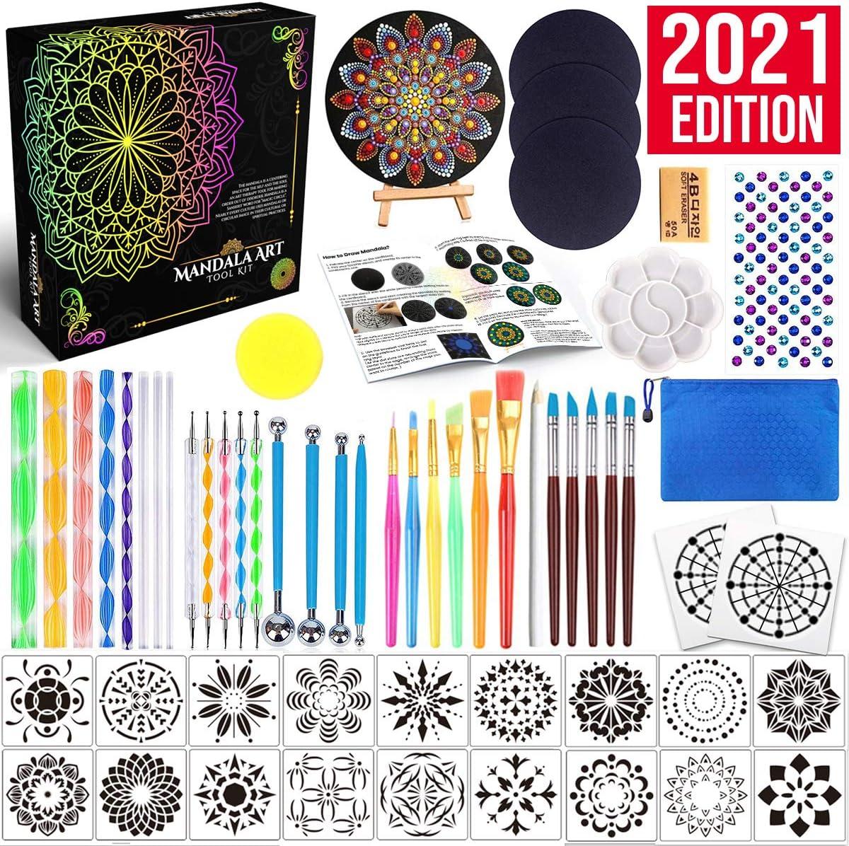 Set of 3 tools dot art painting mandala stylus
