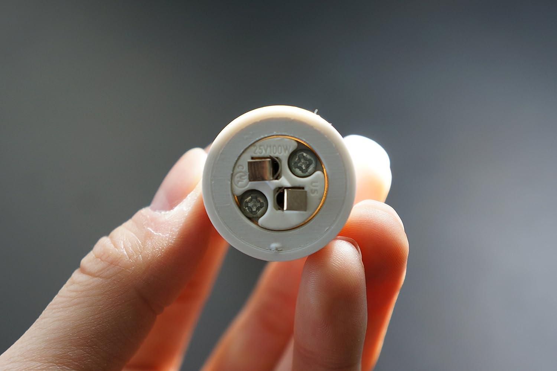 E26//E27 to MR16 GU5.3 LED Lights Bulbs Lamps Flexible Extension Extender Adapter Holder 30cm