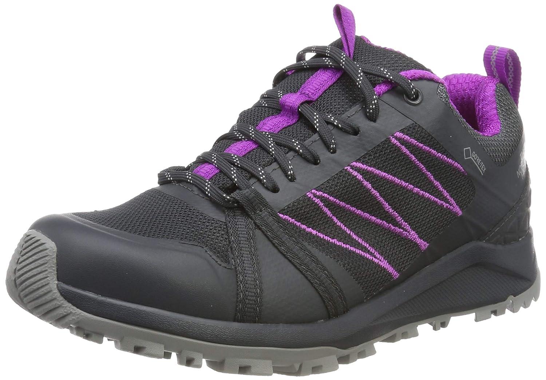 Marron (Ebonygry PurplcactusfFaibler C48) 41.5 EU The North Face W Litewave Fastpack II GTX, Chaussures de Randonnée Basses Femme
