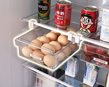 Kühlschrank Aufbewahrungsbox : Hapileap kühlschrank schublade organizer einzigartiges design