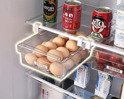 HapiLeap Cajón de Organización para Nevera con Diseño Exclusivo (2 Pcs)