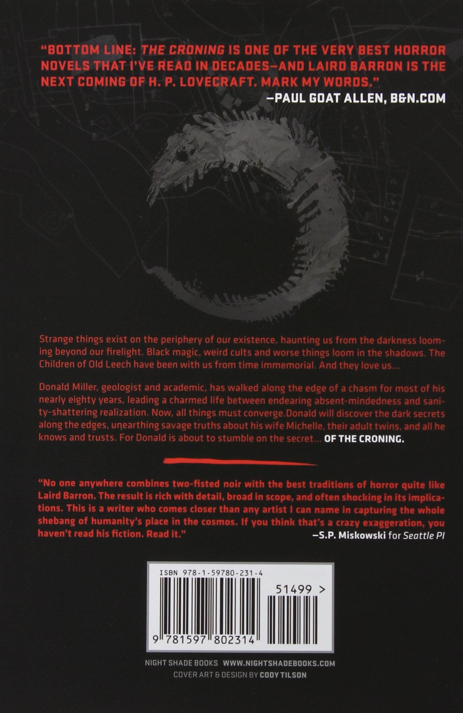 Amazon com: The Croning (9781597802314): Laird Barron: Books