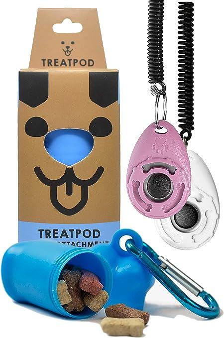 Nicedeal Dog Pet Training Clickers,Pink Pet Dog Supplies