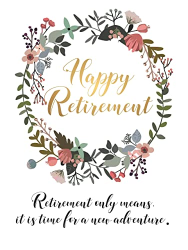 photograph about Retirement Card Printable called : Delighted Retirement Decorations Prices Reward Suggestions