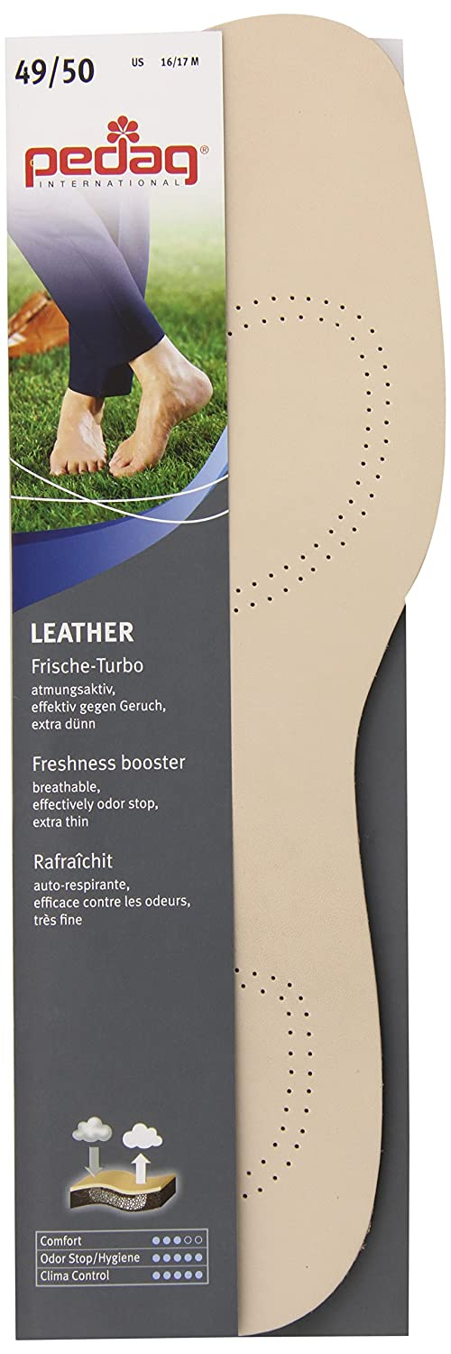 Amazon.com: Pedag Sheepskin Insole with Activated Carbon, Tan, Size 16/17, 2.5 Ounce: Health & Personal Care