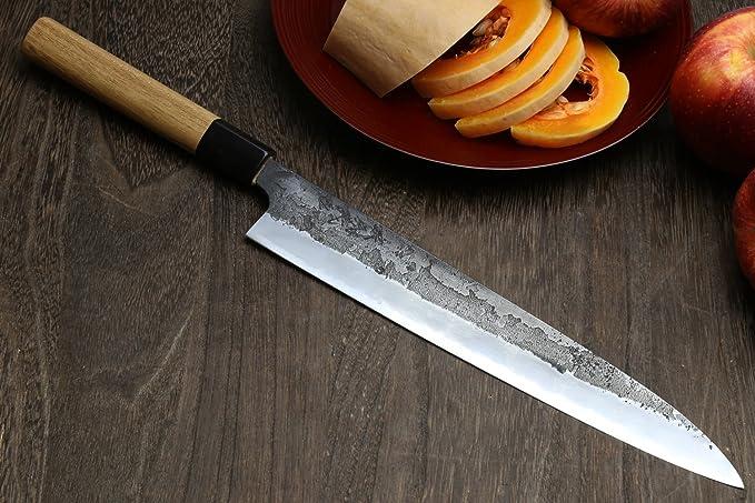 Amazon.com: Yoshihiro Azul Acero de alto carbono artesanal ...