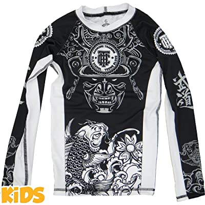 Kids Rashguard Hardcore Training Koi MMA Fitness Boys