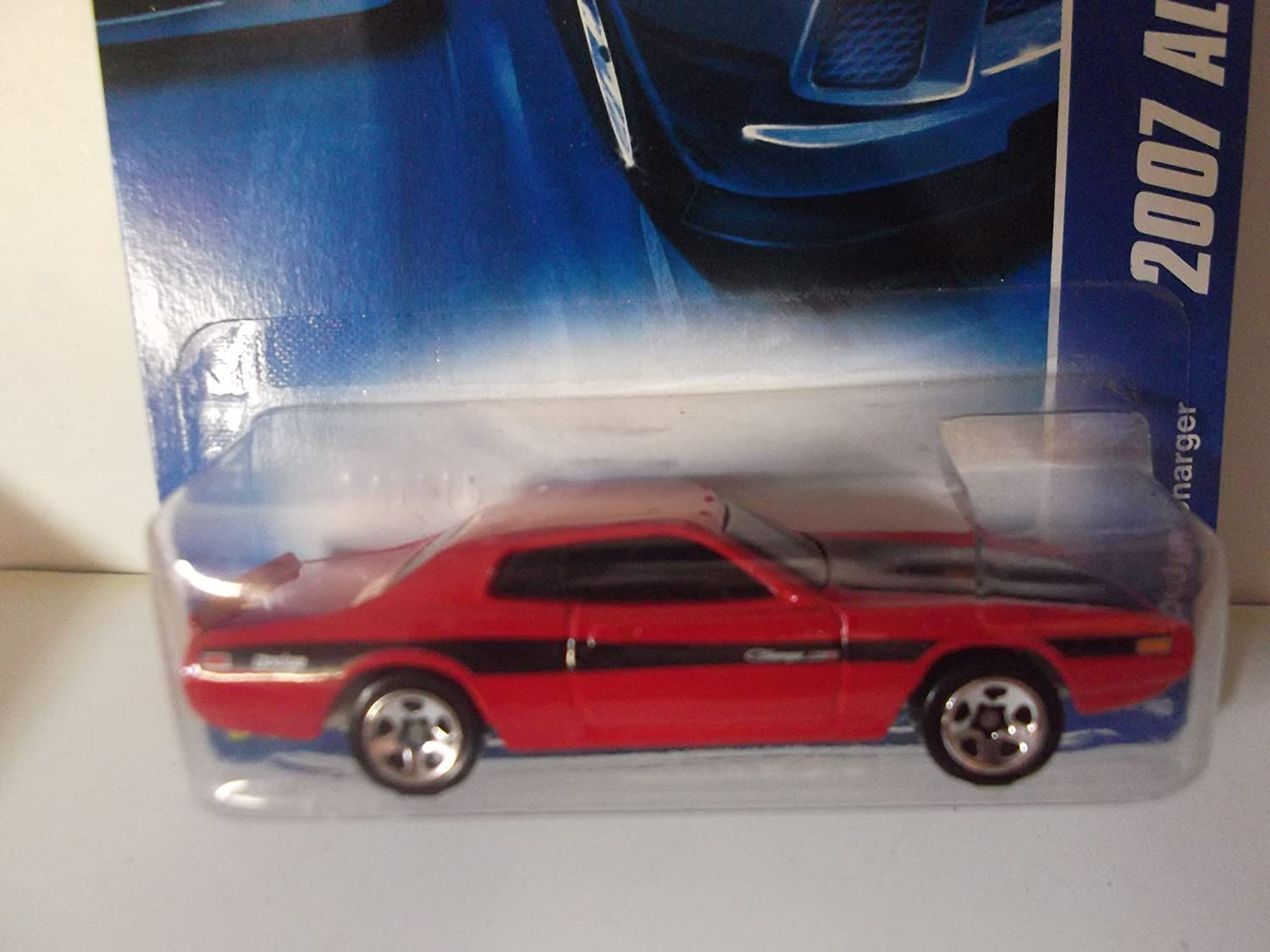 Red Dodge Charger - Hot Wheels - 154/180 L3107 2007 All Stars