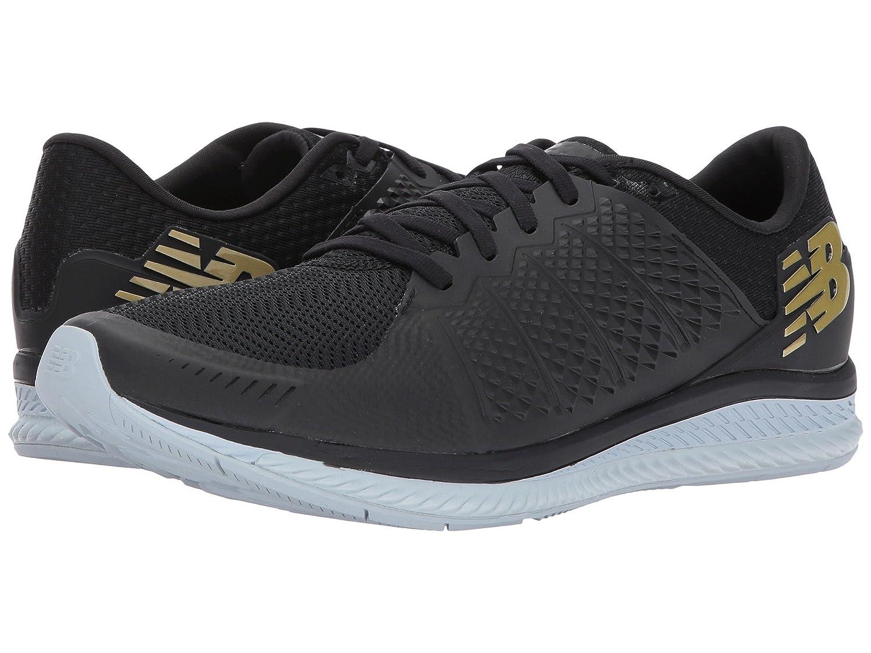 (ニューバランス) New Balance メンズランニングシューズスニーカー靴 Fuelcell v1 Black/Black 11.5 (29.5cm) D - Medium B0788W3L97