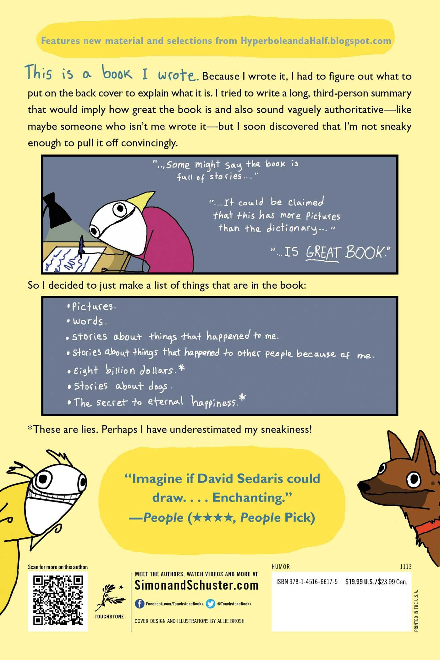 Hyperbole and a Half: Unfortunate Situations, Flawed Coping Mechanisms,  Mayhem, and Other Things That Happened: Allie Brosh: 8601401132530:  Amazon.com: ...